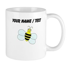 Custom Cartoon Bee Coffee Mugs