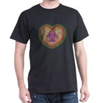 Biohazard Heart Dark T-Shirt