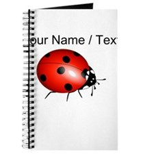 Custom Ladybug Journal