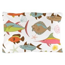 Cute Cartoon Fish Pillow Case