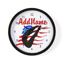 AMERICAN DIVER Wall Clock