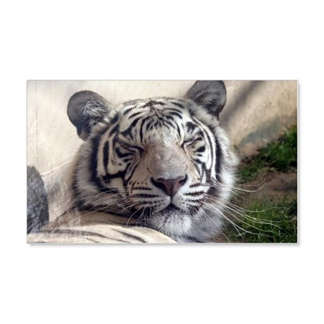 White Tiger 20x12 Wall Decal