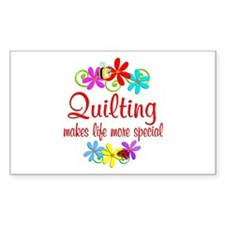 Quilting is Special Decal