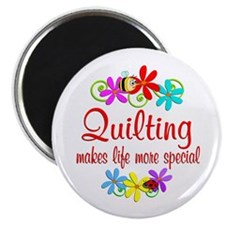Quilting is Special Magnet