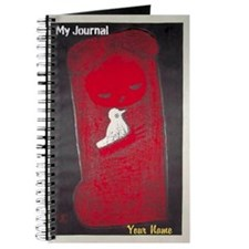 Customizable Journal with Japanese Motif