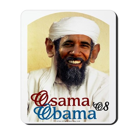 Osama Obama '08 Mousepad
