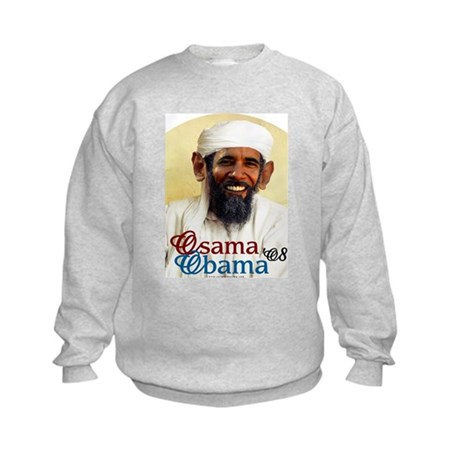 Osama Obama '08 Kids Sweatshirt