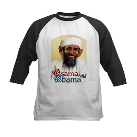 Osama Obama '08 Kids Baseball Jersey