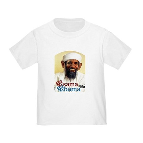 Osama Obama '08 Toddler T-Shirt