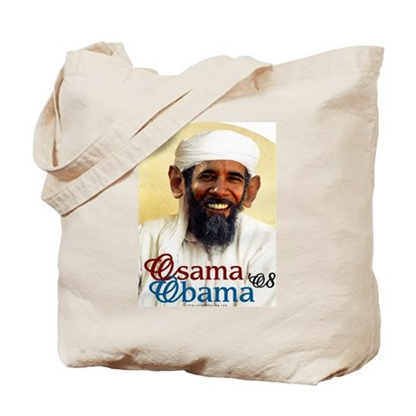 Osama Obama '08 Tote Bag