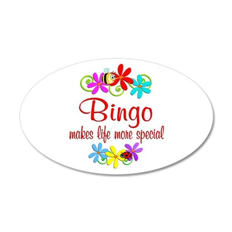 Bingo is Special 20x12 Oval Wall Decal