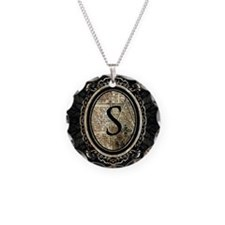 MONOGRAM Gothic Frame Necklace