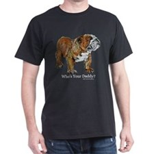 Bulldog Daddy T-Shirt