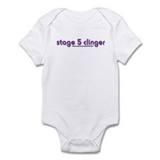 Stage 5 Clinger - White Produ Infant Bodysuit