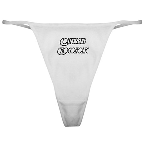 Confessed Chocoholic Classic Thong