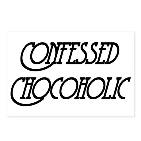 Confessed Chocoholic Postcards (Package of 8)