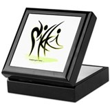 black-design Keepsake Box