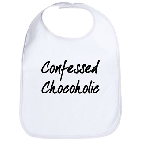 Confessed Chocoholic Bib