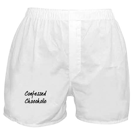 Confessed Chocoholic Boxer Shorts