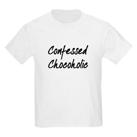 Confessed Chocoholic Kids T-Shirt