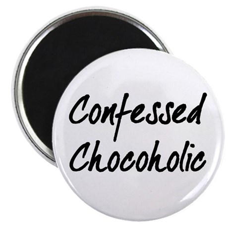 "Confessed Chocoholic 2.25"" Magnet (100 pack)"
