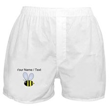 Custom Bumble Bee Boxer Shorts