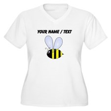 Custom Bumble Bee Plus Size T-Shirt