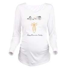 Resurrection Sunday Long Sleeve Maternity T-Shirt