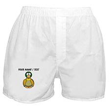 Custom Cartoon Duck Boxer Shorts