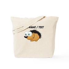 Custom Hedgehog Tote Bag