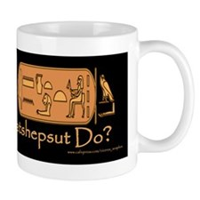 What Would Hatshepsut Do? Mug/black