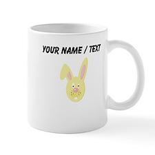 Custom Yellow Easter Bunny Mugs