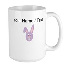 Custom Purple Easter Bunny Mugs