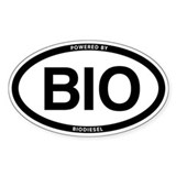 Oval Biodiesel sticker