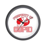 Property of Cupid Wall Clock
