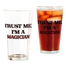 Trust Me, I'm a Magician Drinking Glass