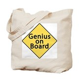 Genius on Board Tote Bag