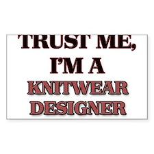 Trust Me, I'm a Knitwear Designer Decal