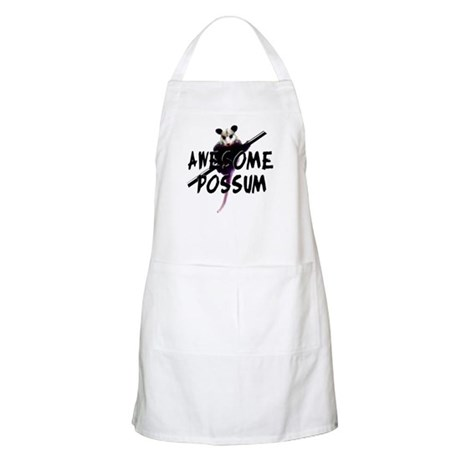 Awesome Possum BBQ Apron