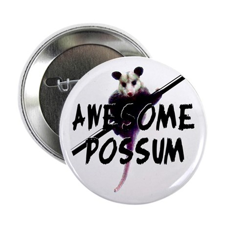 Awesome Possum Button