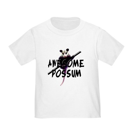 Awesome Possum Toddler T-Shirt