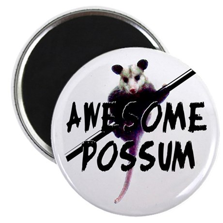 "Awesome Possum 2.25"" Magnet (100 pack)"