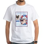 Agility Chinese Pugs White T-Shirt