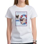 Agility Chinese Pugs Women's T-Shirt