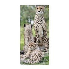 Cheetah002 Beach Towel