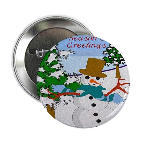 "Season's Greetings 2.25"" Button (100 pack)"