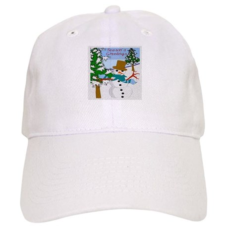 Season's Greetings Cap