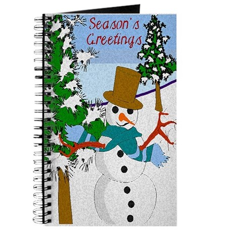 Season's Greetings Journal