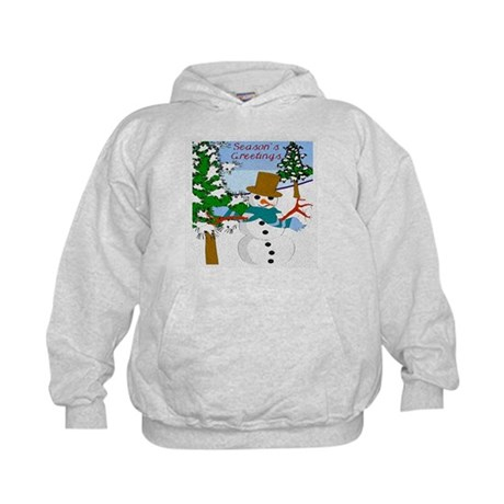 Season's Greetings Kids Hoodie