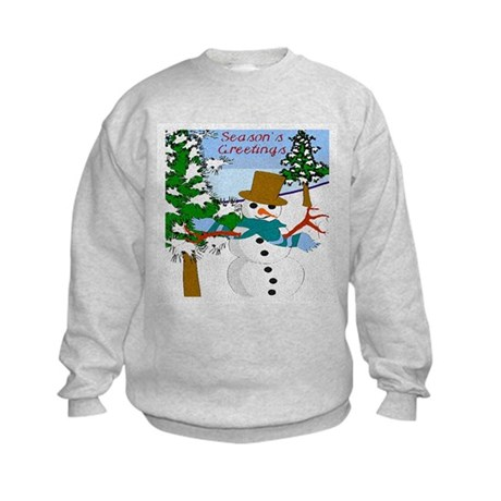 Season's Greetings Kids Sweatshirt